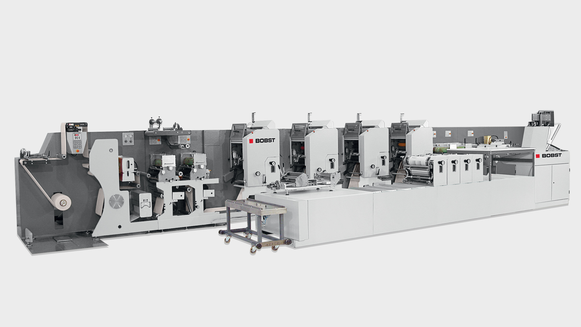 M7 Line Printing Press For Labels Flexible Packaging